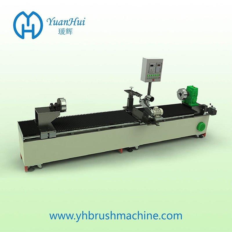 YuanHui Single Metal Back CNC Strip Brush Wind Machine