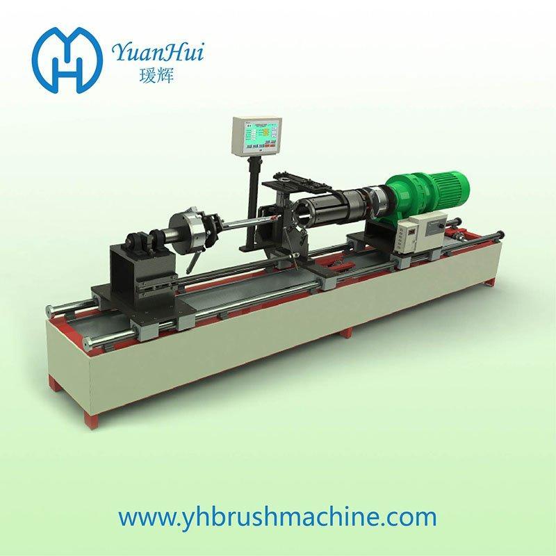 YuanHui Internal Weld Cylinder Metal Back Strip Brush Machine