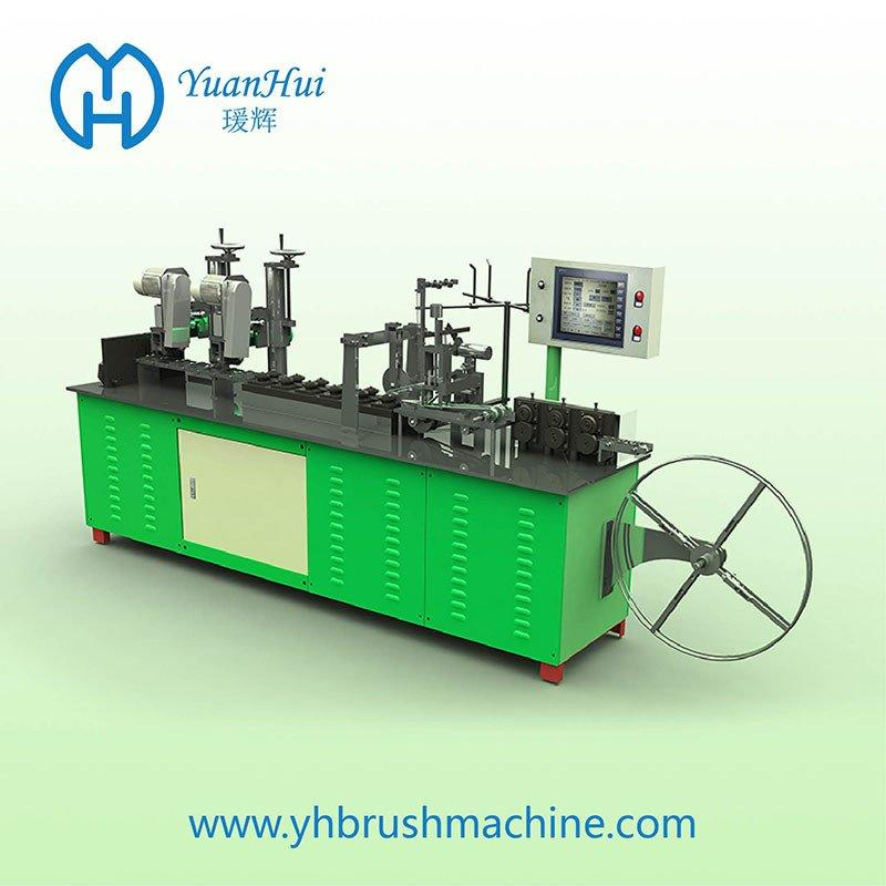 YuanHui 12 Roller Single Metal Back Strip Brush Making Machine