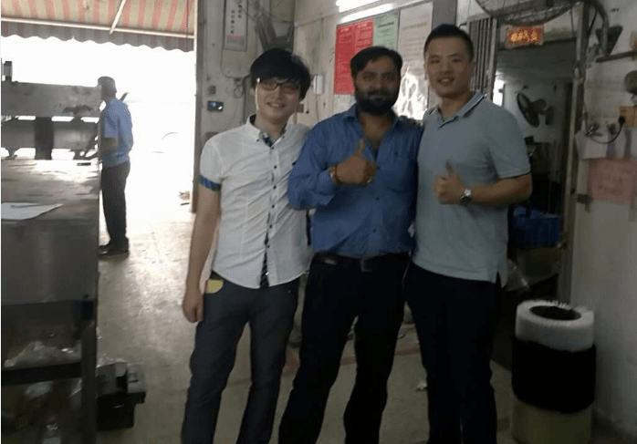 Friend from India to visit YuanHui