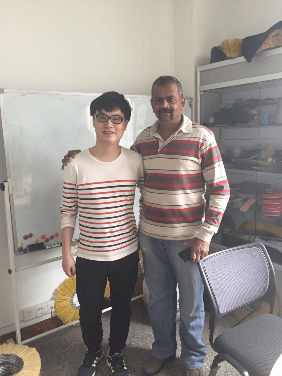 india client visit YUANHUI