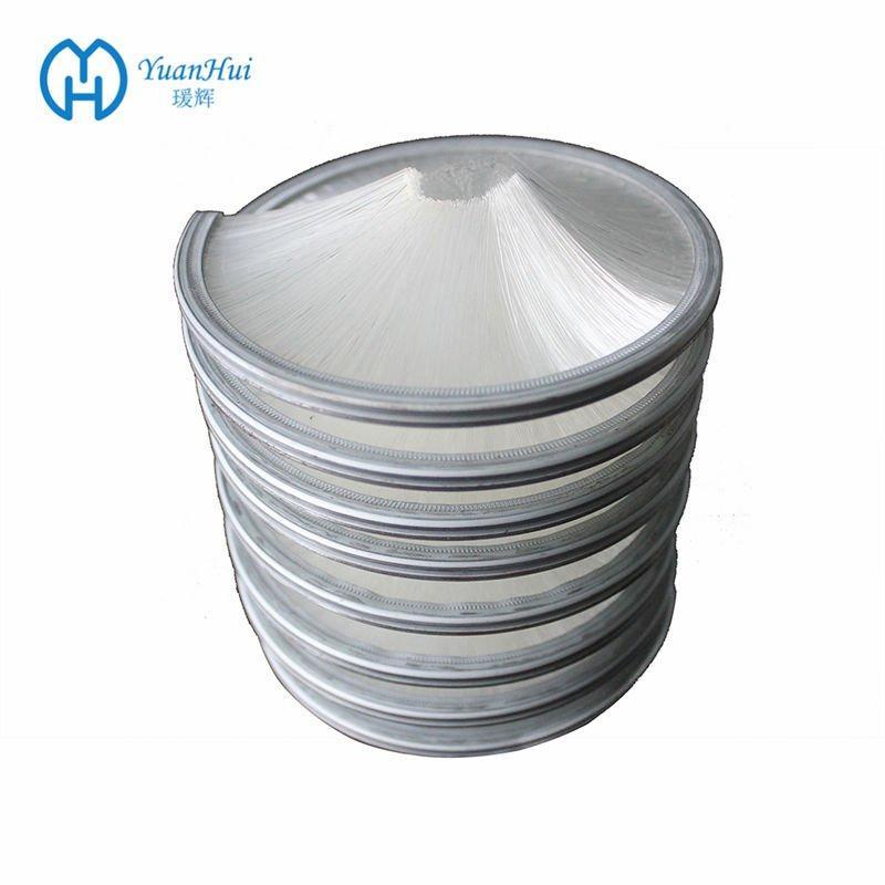 YuanHui Inward Spiral Brush - White Nylon Filament Brush